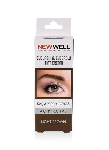 New Well New Well Kalıcı Açık Kahve Kaş Kirpik Boyası Renksiz